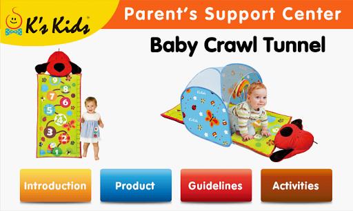 Baby Crawl Tunnel