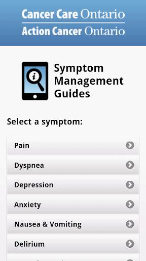 Symptom Management Guides