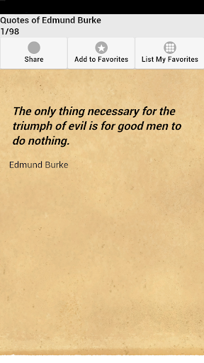 Quotes of Edmund Burke