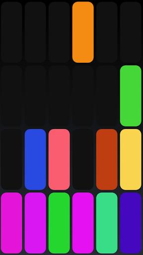 Colorful Binary Clock