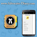 Advocate Diary Case Tool  Free icon