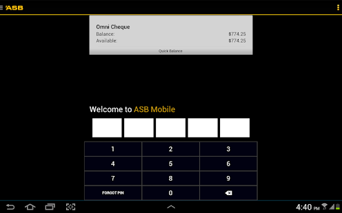 ASB Mobile Banking- screenshot thumbnail