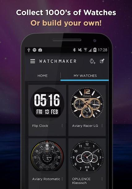 ����� ������ WatchMaker Premium Watch Face v3.3.2 ���������
