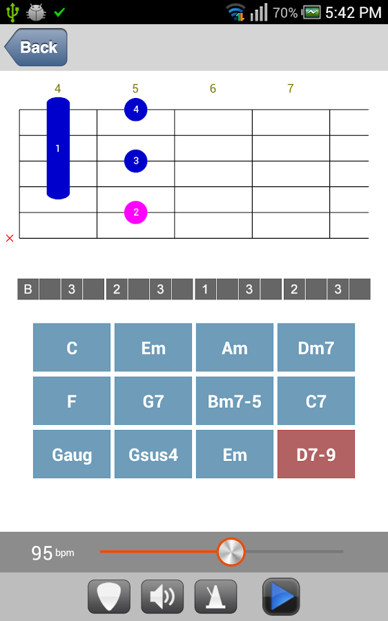 DS Guitar Chord Pro - screenshot
