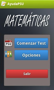 Ayuda PSU Matemáticas - screenshot thumbnail