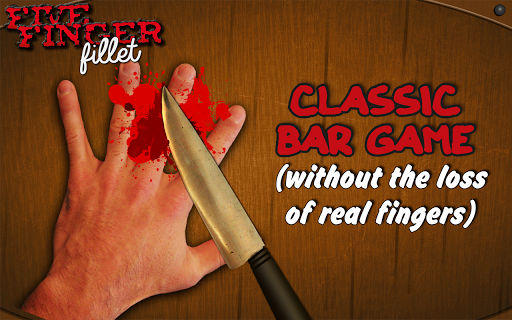 Five Finger Fillet Knife Game