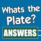 Answers for What's The Plate