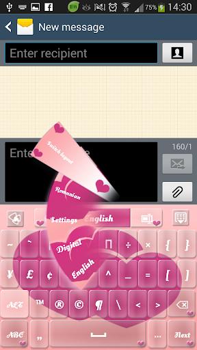 GO输入粉红色的心