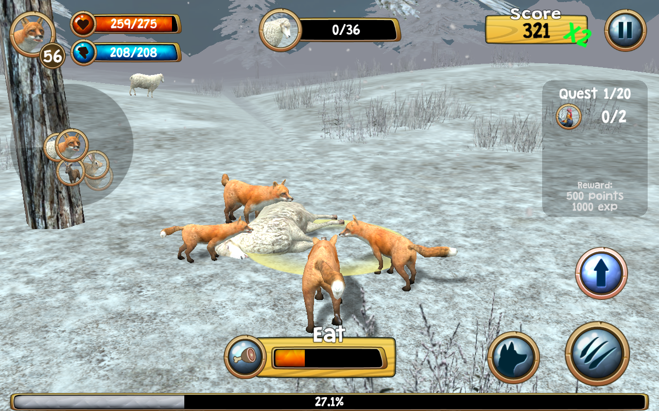Wild Fox Sim 3d Android Apps On Google Play