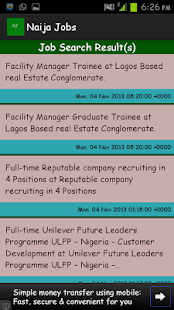 Naija Jobs - screenshot thumbnail