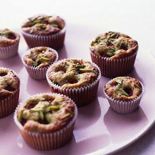 Pistachio-Raspberry Tea Cakes.