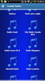 Croatian Radios - screenshot thumbnail
