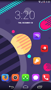Pop UI (Go Apex Nova theme) - screenshot