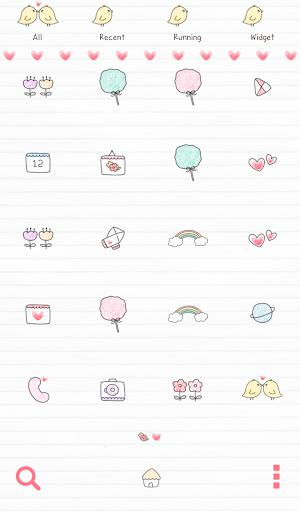 【免費個人化App】뽀뽀하고싶소 도돌런처 테마-APP點子