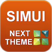 SIMUI Next Launcher 3D Theme