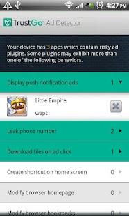 TrustGo Ad Detector- screenshot thumbnail