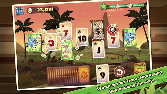 Solitaire TriPeaks - screenshot thumbnail