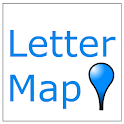 Letter Map - Free Msg Service icon