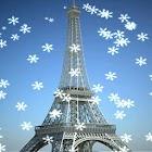 Paris Snow Live Wallpaper icon