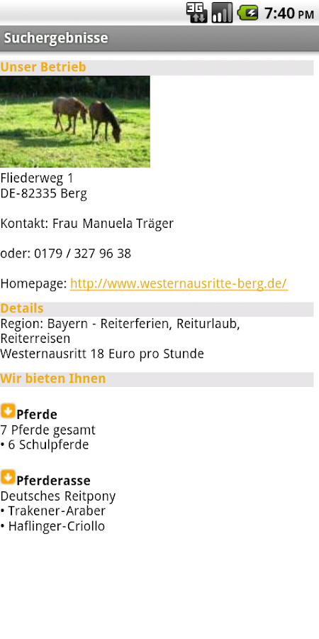 reiten.de- screenshot