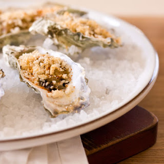 Oysters Bienville.
