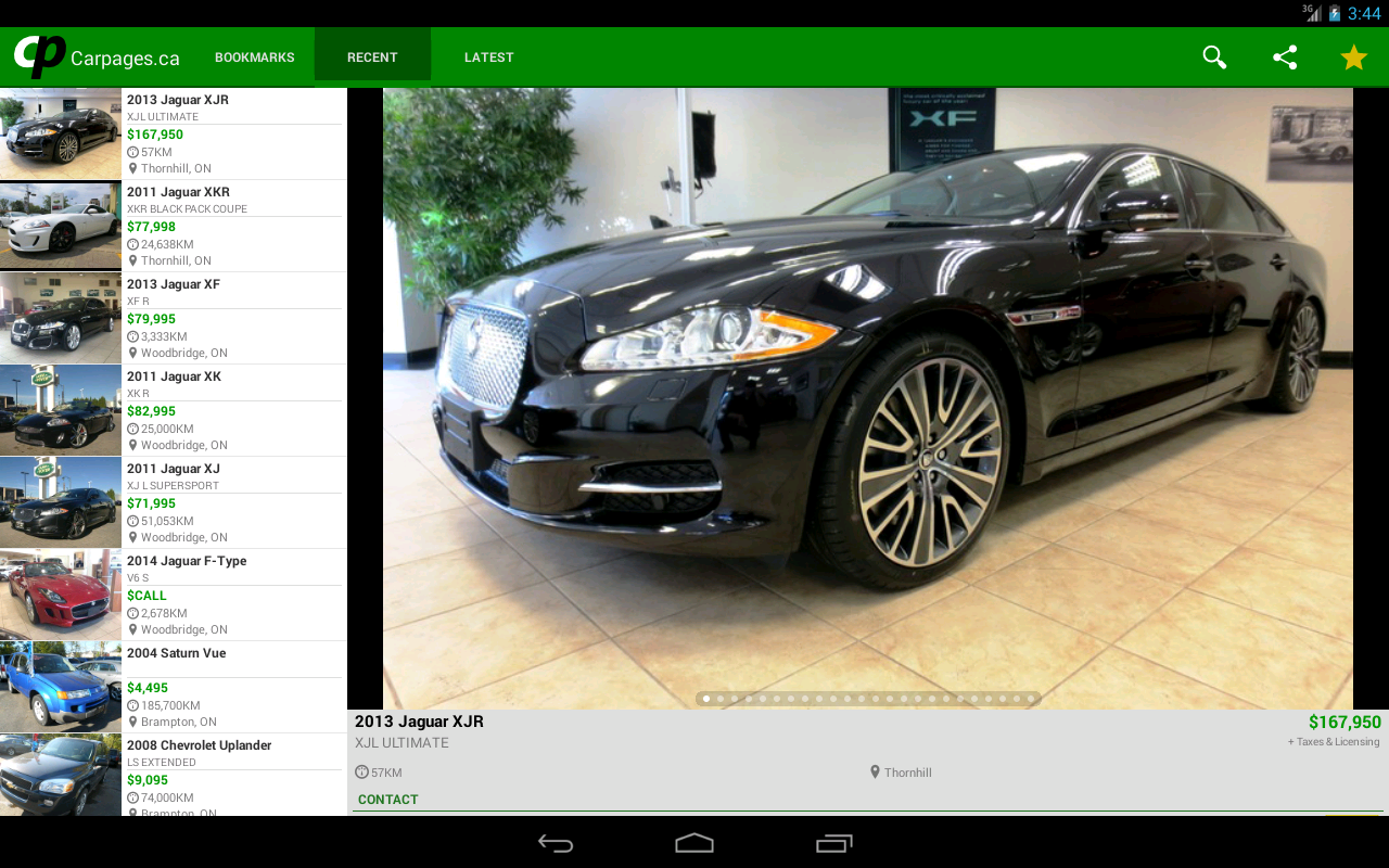 Carpages.ca - Used Cars Canada- screenshot