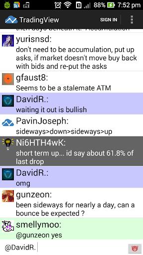 unoffical tradingview app