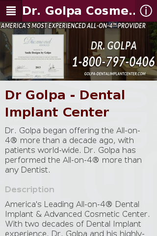 Dr Golpa Cosmetic Dentistry