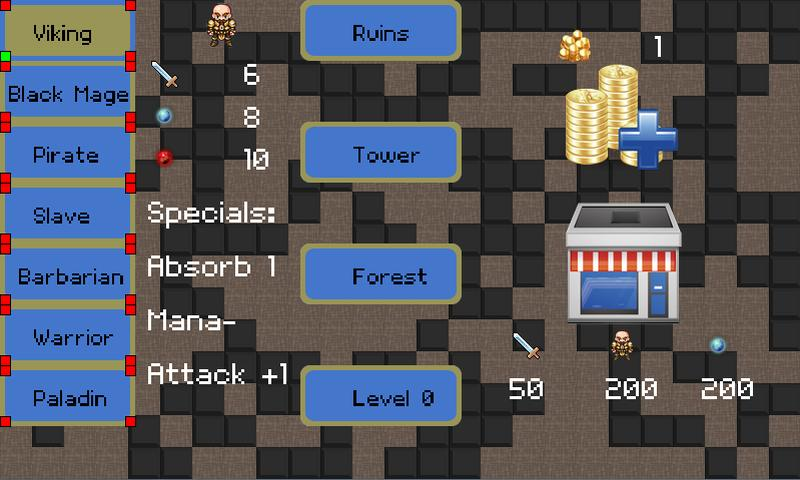 Mobile Dungeons Roguelike RPG- screenshot