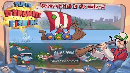 Super Dynamite Fishing- screenshot thumbnail