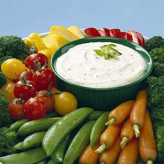 Garden Vegetable Dip.
