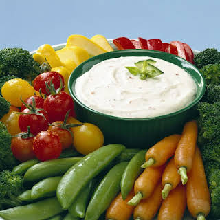 Garden Vegetable Dip.
