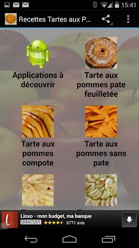 Recettes de Tartes aux Pommes