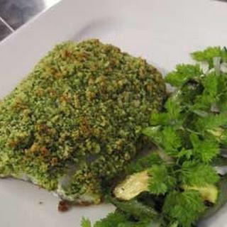 Turbot with Cobnut Crust Recipe