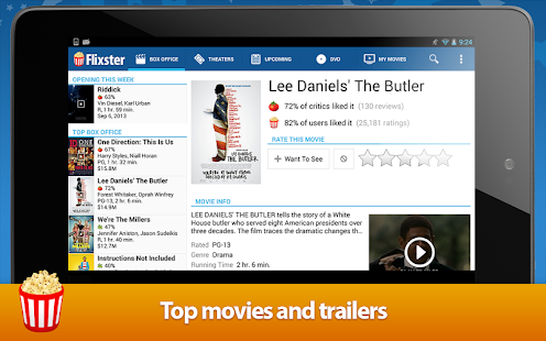 Movies by Flixster Screenshot 25