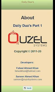 Daily Duas - screenshot thumbnail