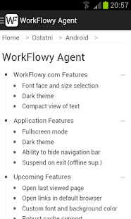 WorkFlowy Agent - screenshot thumbnail