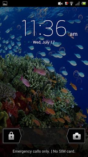 Underwater Aquarium LWP