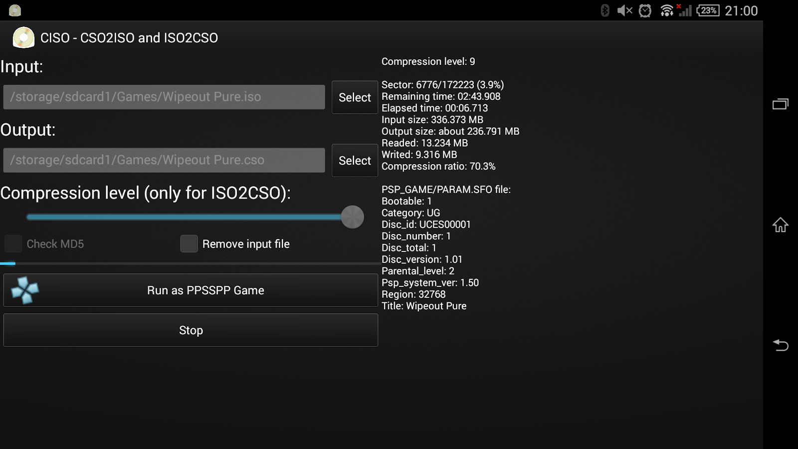 CISO – PSP ISO Compressor - Android Apps on Google Play