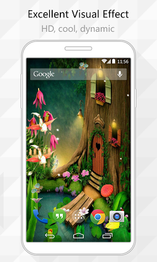 Tree House Live Wallpaper