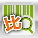 我比比¥掃描比價折扣優惠¥Wobibi Barcode co icon