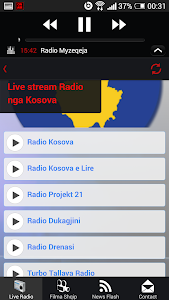 Albanian Live Radio - Lite screenshot 2