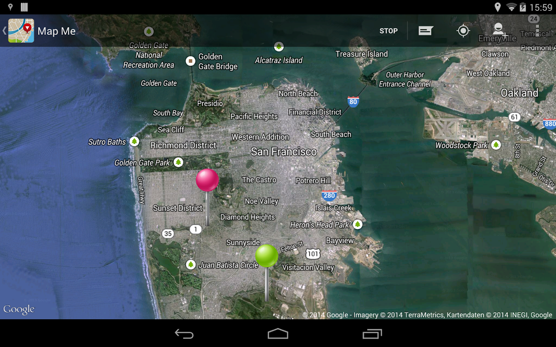 Map Me - screenshot