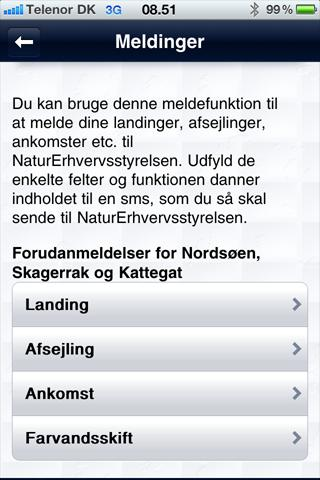 FiskSikkert - screenshot