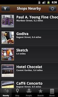 Chocolate Guide- screenshot thumbnail