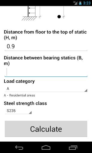 Railing calculator