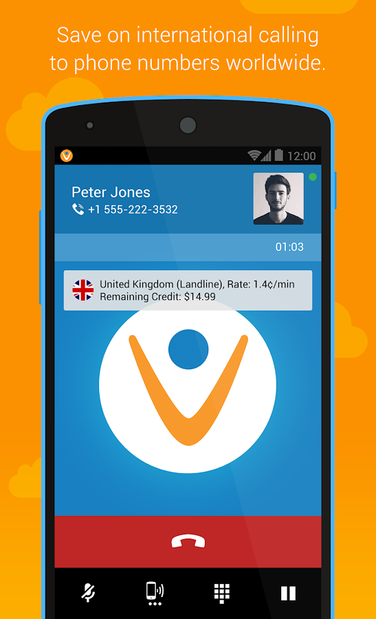 Vonage Mobile® Call Video Text- screenshot