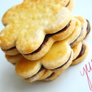 Gluten-Free Shortbread Sandwich Cookies