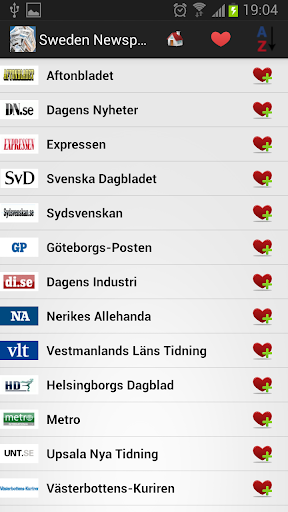 瑞典报纸和新闻