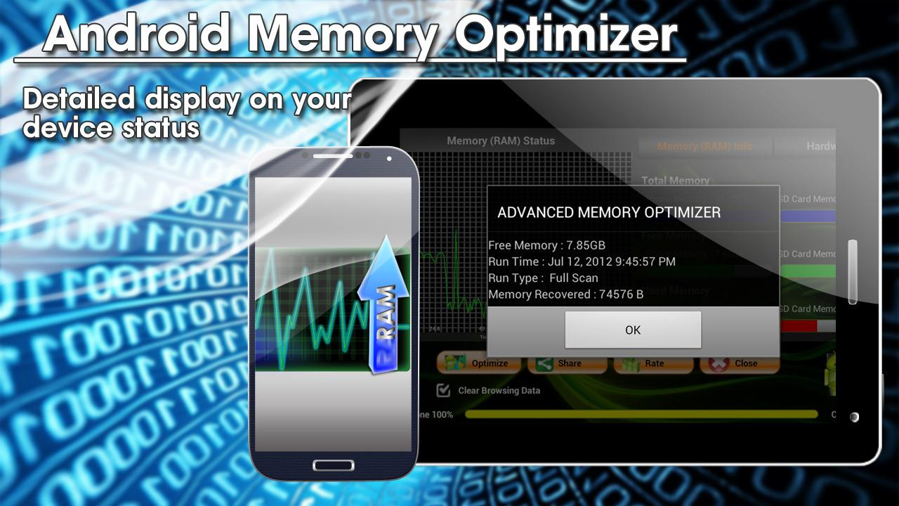Android Memory Optimizer FREE - screenshot